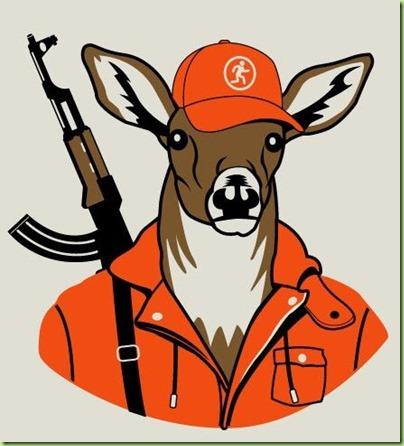 armed deer