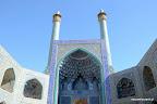 Jeden z najpiękniejszych meczetów w Isfahanie w poludnie