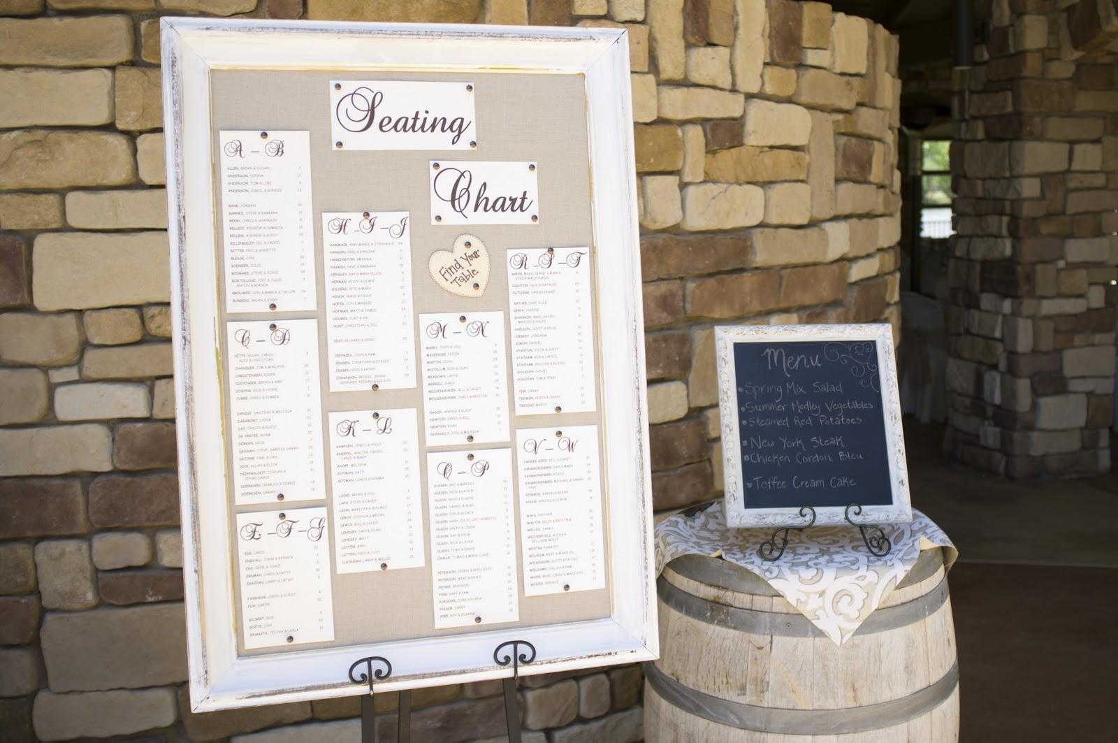 Jeanine\'s blog: diy wedding seating chart