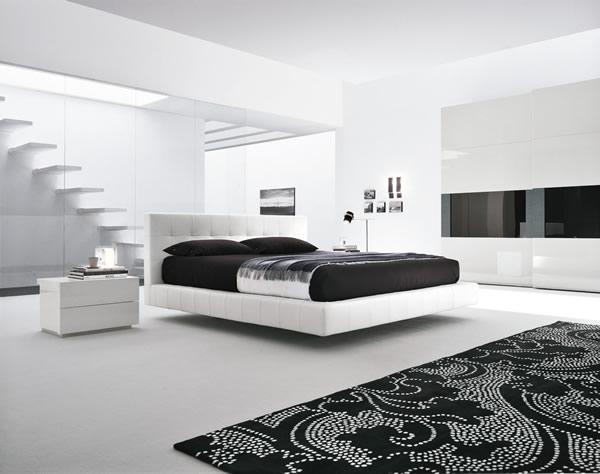 Stanze Da Letto Moderne Bianche : Camere letto moderne arredamento camera da letto idealista news