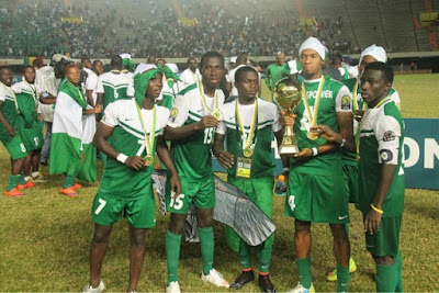 NFF President, Pinnick ecstatic as Dream Team lifts U-23 Afcon trophy