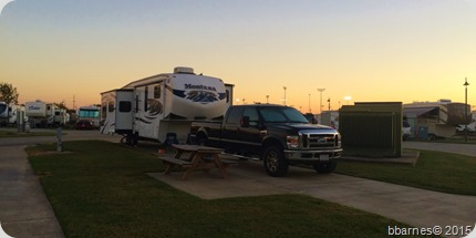Gulf Coast RV Resort Beaumont TX 10152015