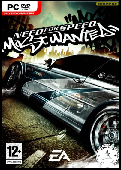 NFS Most Wanted Black Edition cover pc