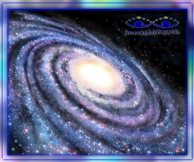Piękno wszechświata - Spiralna Galaktyka Przestrzeń Kosmiczna