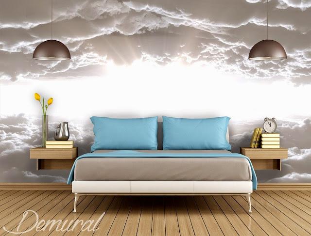 schlafzimmer ideen wand schlafzimmer mit ausblick wnde gestalten natur fototapeten - Wand Ideen