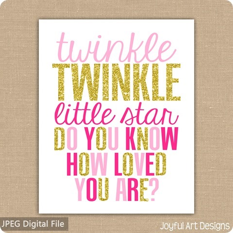 ETSY Twinkle Little star