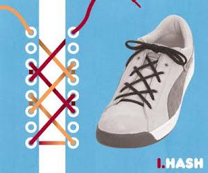 Memasang Tali Sepatu dengan Trik Hash