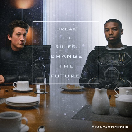 miles teller and michael b jordan in fantastic four