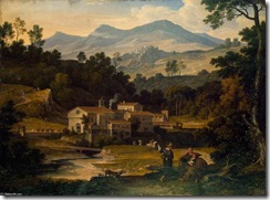 Joseph-Anton-Koch-Monastery-of-San-Francesco-di-Civitella-in-the-Sabine-Mountains-2-