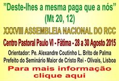 XXXVI Ass. Nac. RCC 28-30.AGO.15