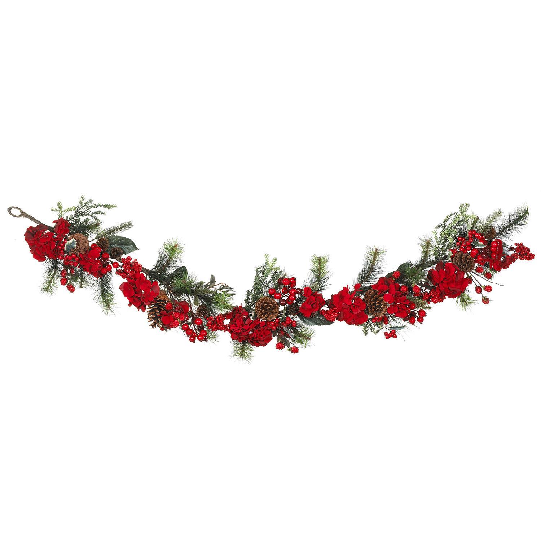 72? Holiday Hydrangea Garland