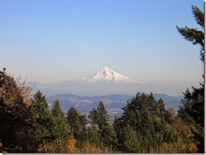 IMG_9227 View of Mount Hood from Council Crest Park in Portland, Oregon on October 23, 2007