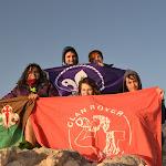 El Clan Rover Benahoare a 3718 metros de altitud