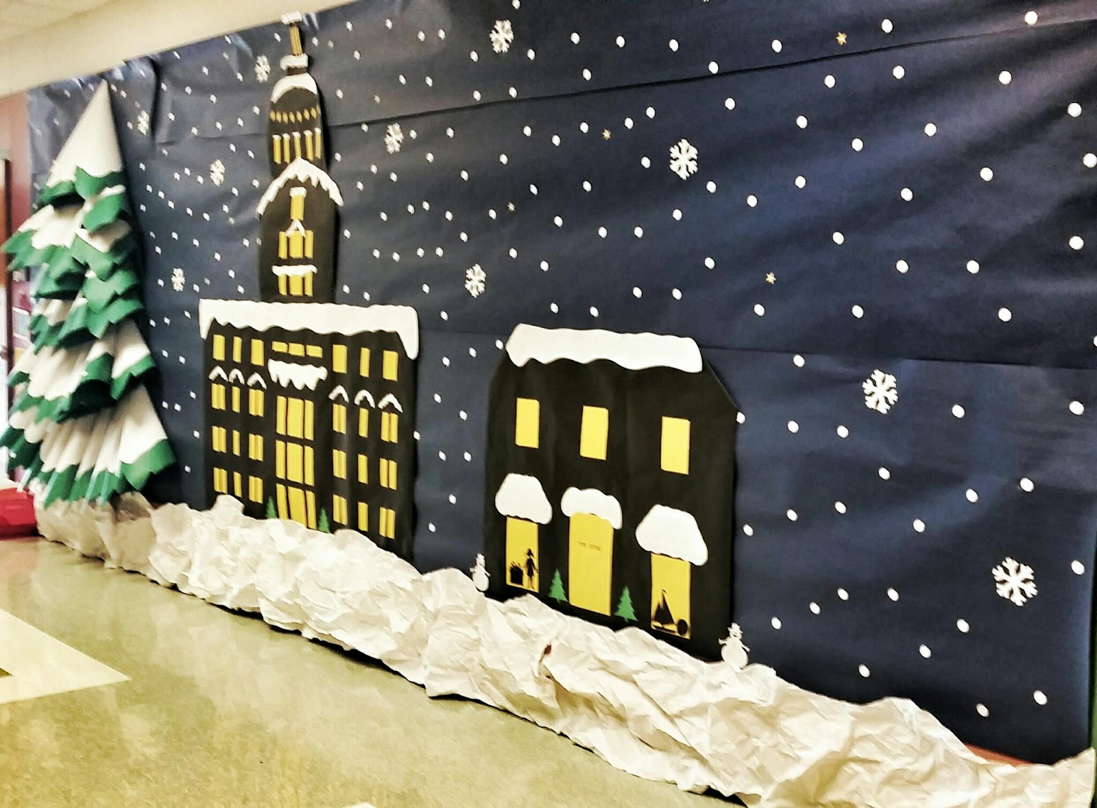 Christmas Decorations School Hall : Learning as i sew bake cut and create polar express