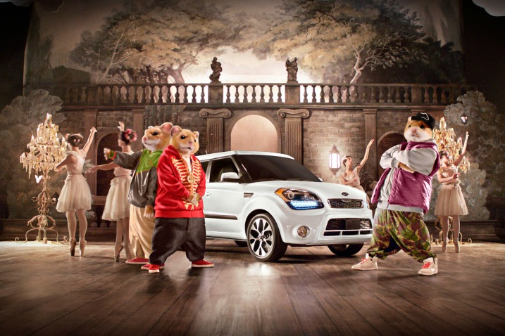The Hamsters Are Bringing Down The House In The New 2013 Kia Soul Commercial