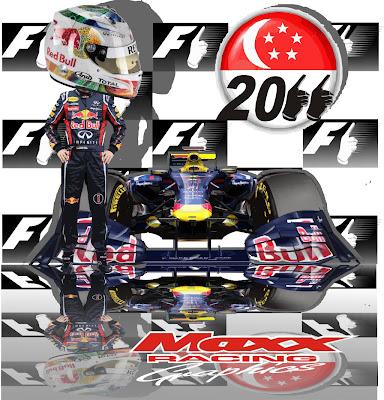 Себастьян Феттель и Red Bull приближаются ко второму чемпионству после Гран-при Сингапура 2011 - Maxx Racing
