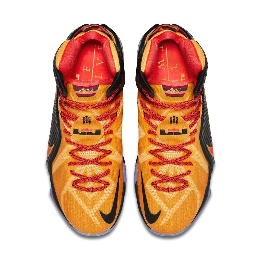 ... Official Look at Upcoming 8220CLE8221 Carbon Fiber Nike LeBron 12 ...