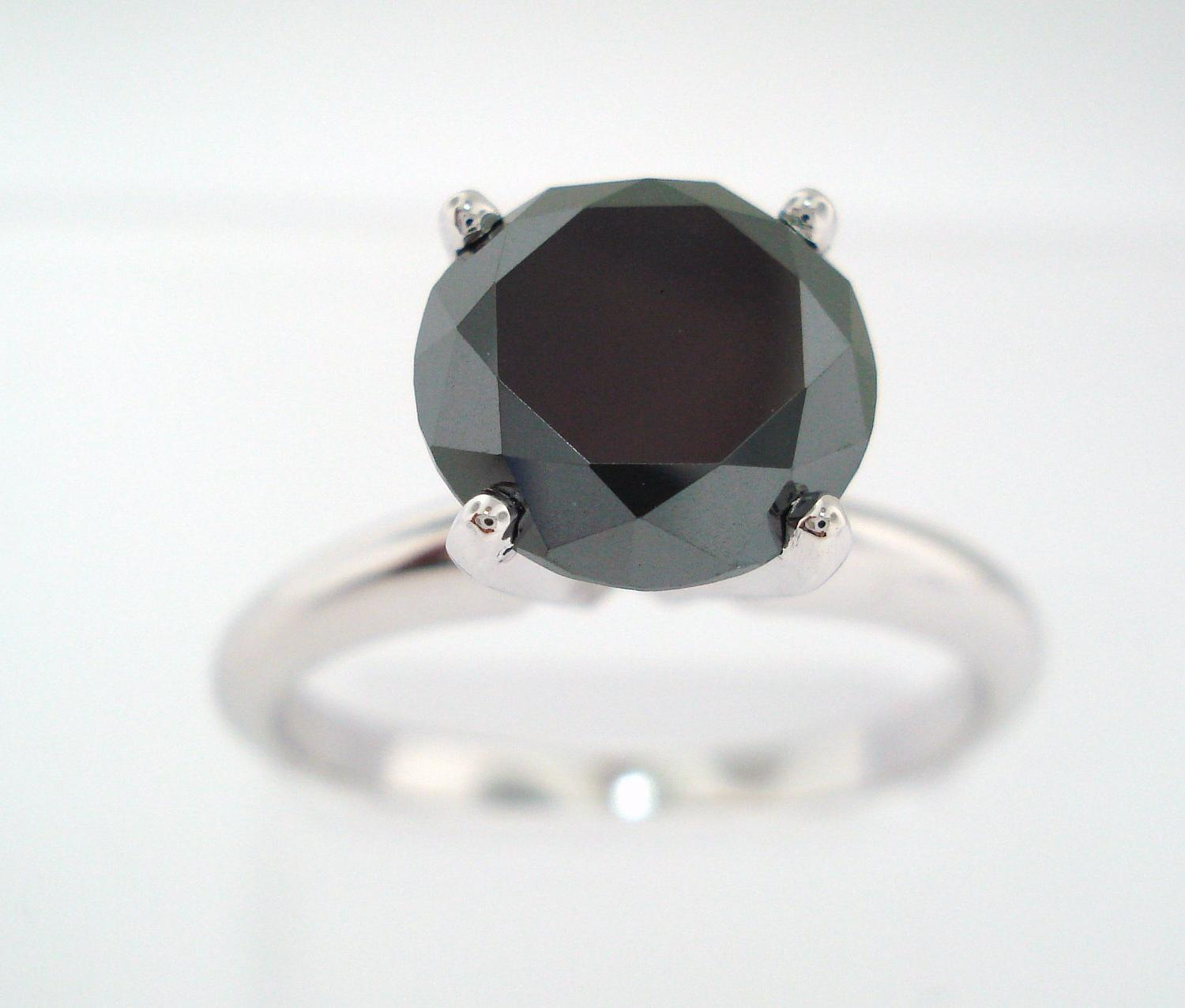 2.00Ct Fancy Black Diamond