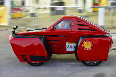 Фернандо Алонсо на Эко-Марафоне Shell перед Гран-при США 2014