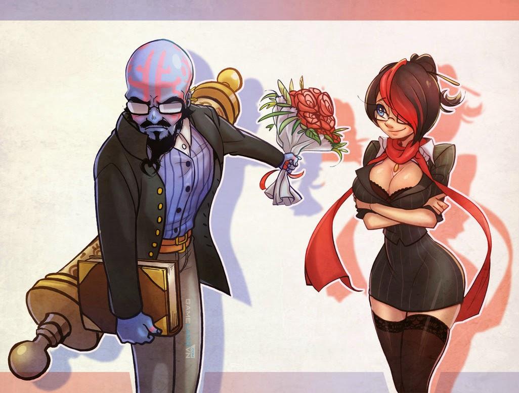 Comic Liên Minh Huyền Thoại: Ryze tỏ tình với Fiora