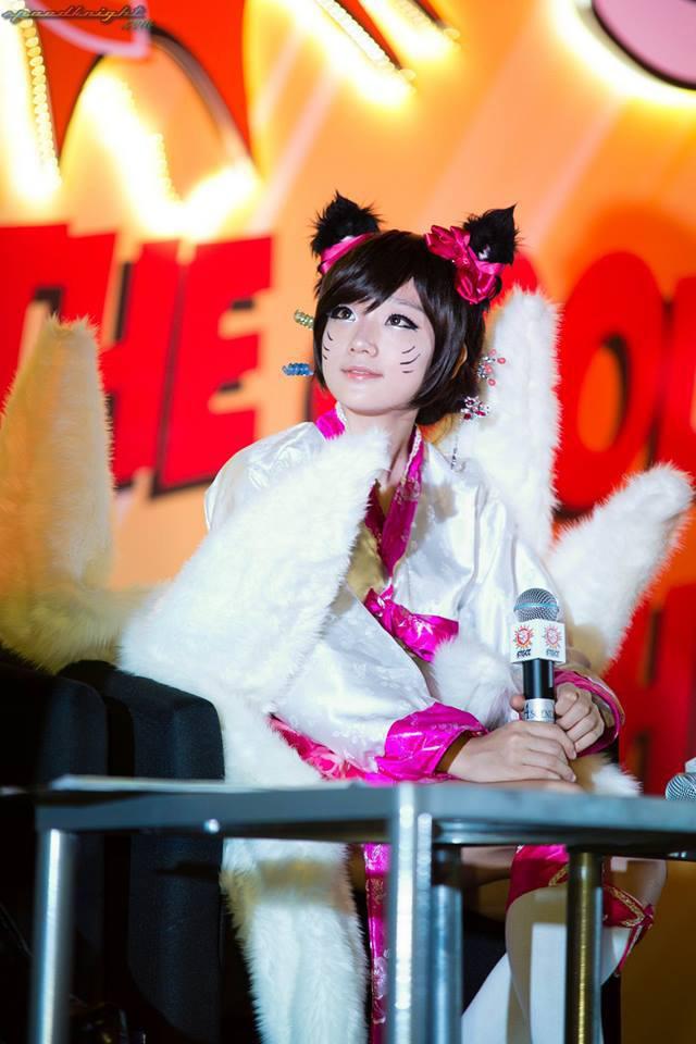 Miyuko khoe cosplay Ahri tại STGCC 2013 - Ảnh 14