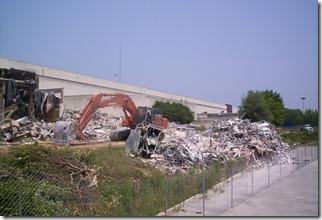 Carolina Circle Mall During Demolition 011