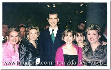 las messinas con el principe de asturias