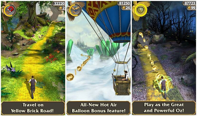 Temple Run Oz Review