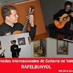 1: Rafelbunyol. X Jornadas Internacionales de Guitarra de Valencia. 2012