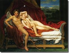 DAVID, Jacques-Louis-Cupido y Psyche-1817