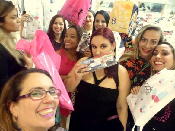 encontro de blogueiras e leitoras norte shopping
