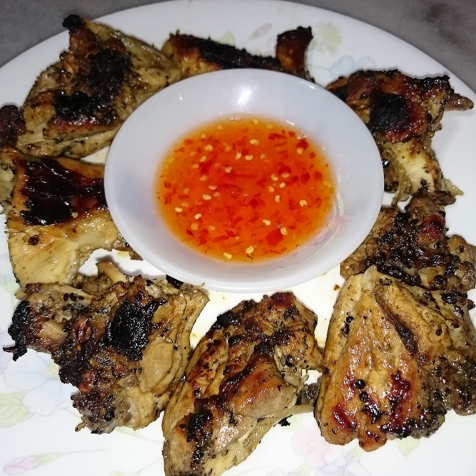 Resepi Ayam Panggang Madu Dengan Pemanggang Ajaib