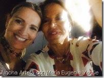 Ainoha Arteta con María Eugenia Yagüe