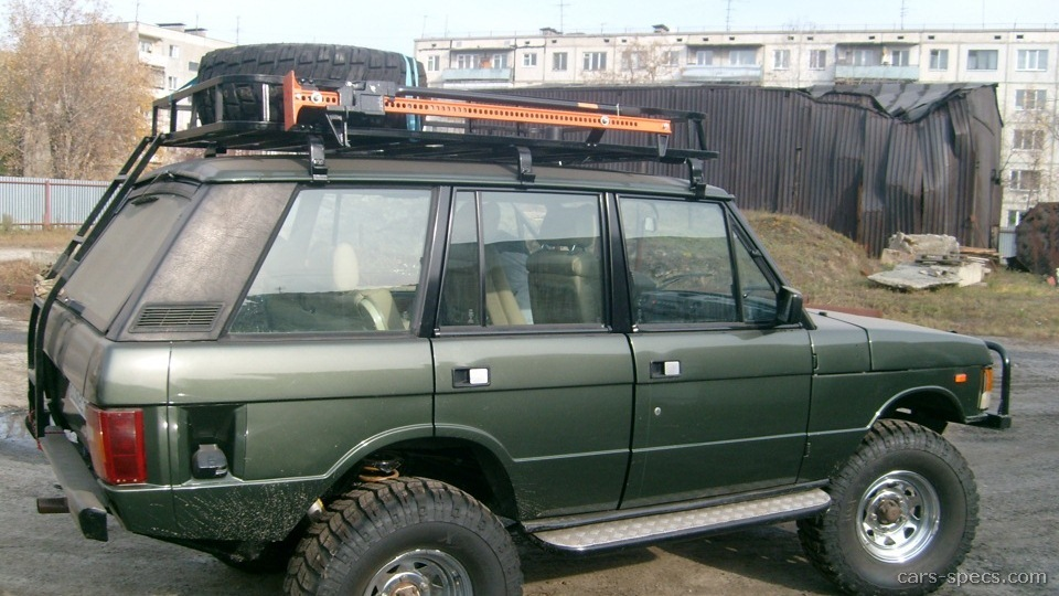 1990 land rover range rover suv specifications pictures. Black Bedroom Furniture Sets. Home Design Ideas