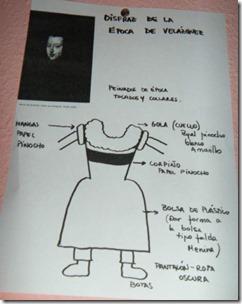 disfraz de velazques y de meninas bolsa de basura (3)
