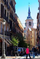Calles colindantes a la Plaza Mayor