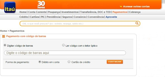itau-pagamento-de-conta-online-www.meuscartoes.com