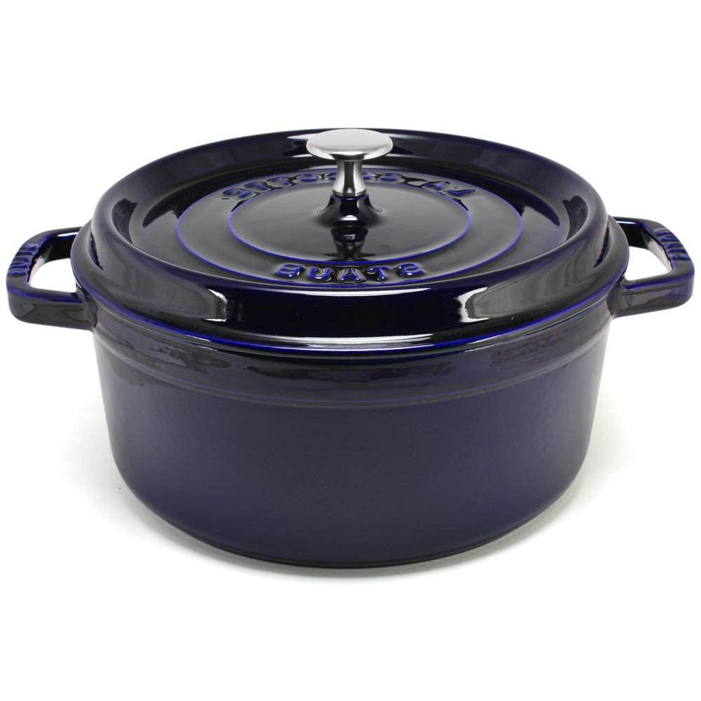 Staub - Marine Blue Round