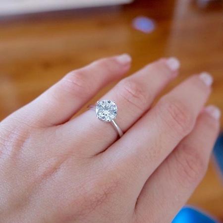 Pauleen Luna engagement ring