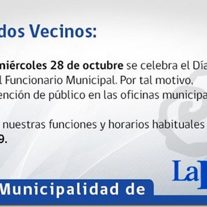 Día Nacional del Funcionario Municipal