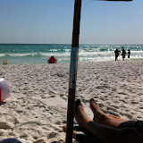 On the Beach in Destin, FL for Spring Break - 2012 - 06