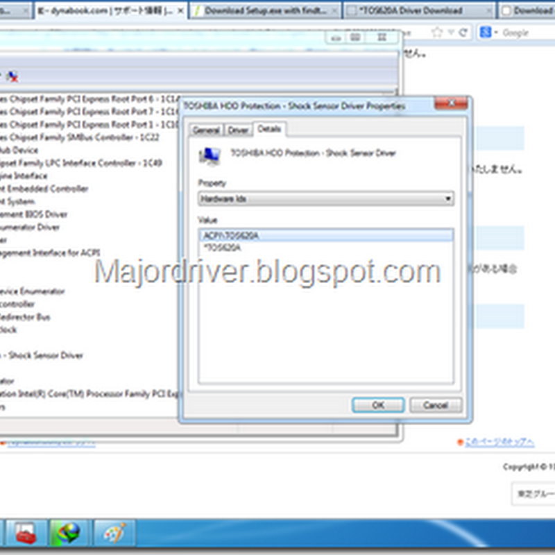 Download Toshiba Hdd Protection Shock Sensor Driver