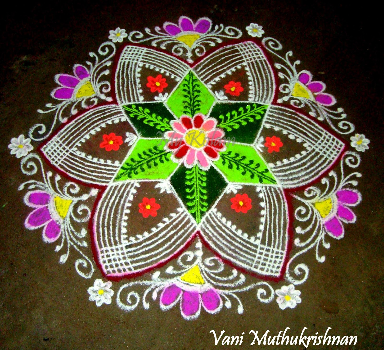 rangoli designs wallpaper stars - photo #41