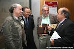 José Miguel Moreno, Luis Barber de Maderas Barber y José Mª Vilaplana de Guitarras Alhambra
