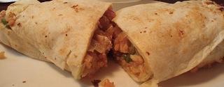 BBQ Chicken Burrito; Gwenn Weiss