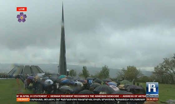 imatge de la commemoracion del genocidi dels Armenians 20