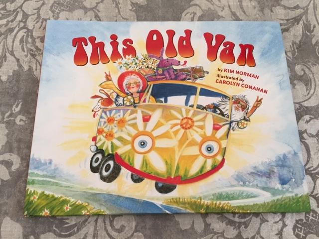 this old van book