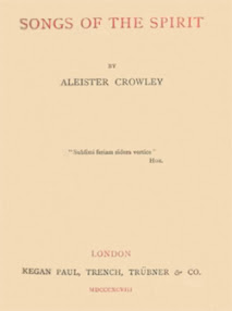 Cover of Aleister Crowley's Book Songs Of The Spirit