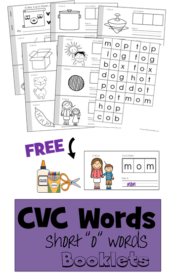 Free cvc worksheets pdf