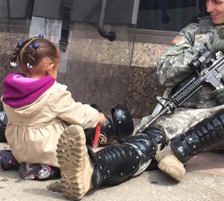 la bambina e la guerra 1
